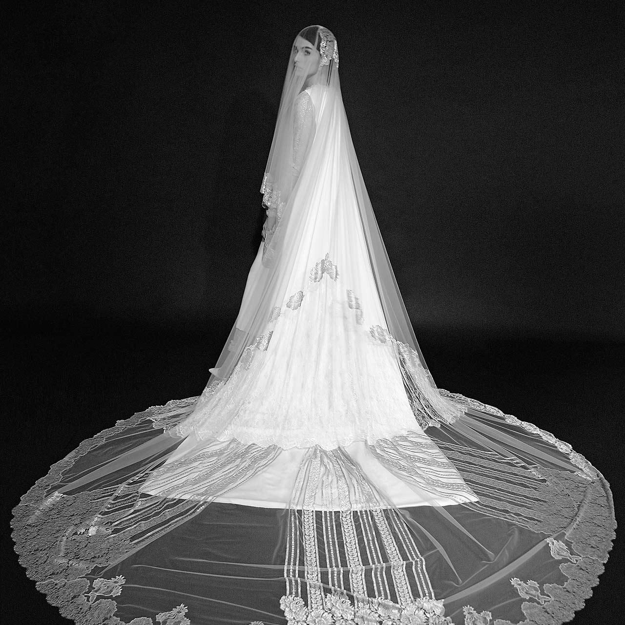 Monvieve Costanza Veils Collection 2018