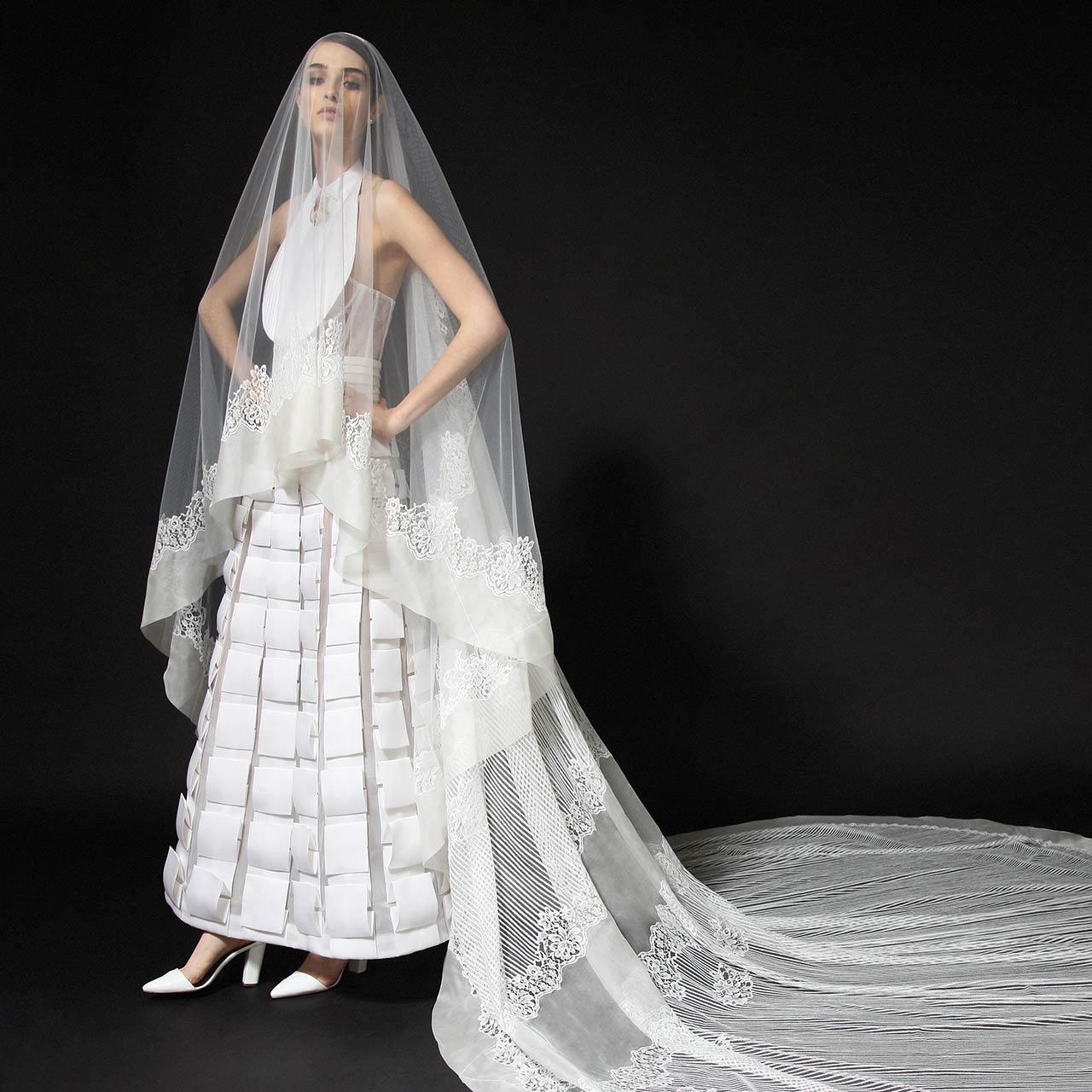 Monvieve Chiara Veils Collection 2018