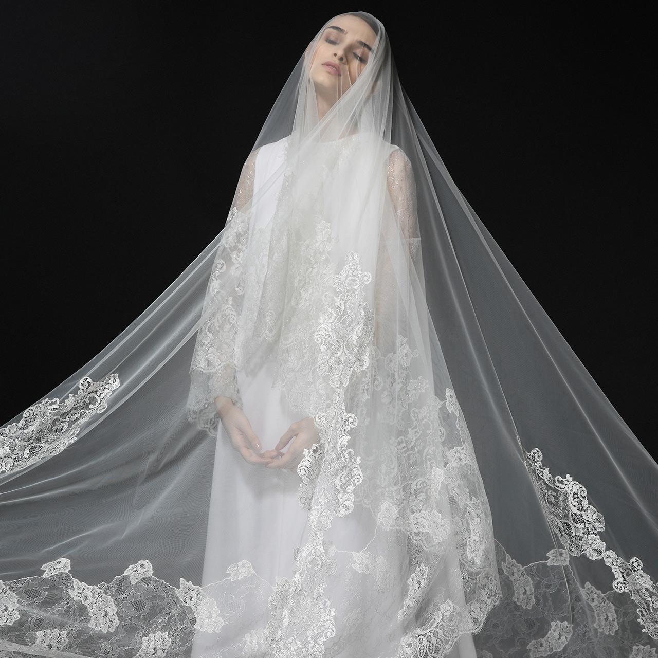 Monvieve Francesca Veils Collection 2018